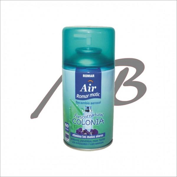 Romar matic spray recarga 250ml milbi lda for Frescura spa